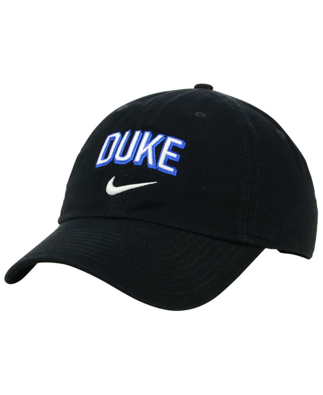 Nike Duke Blue Devils H86 Wordmark Swoosh Cap & Reviews - Sports Fan Shop By Lids - Men - Macy's