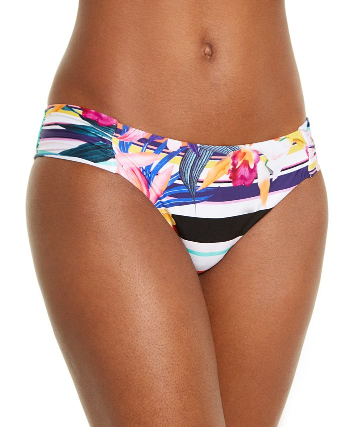 Trina Turk - Printed Hipster Bikini Bottoms