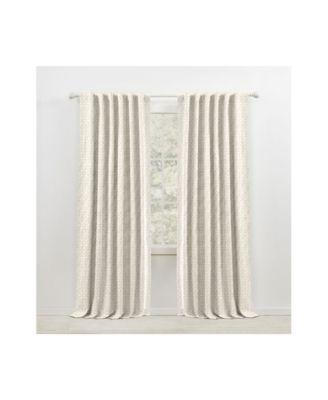 Sallie Blackout Back Tab/Rod Pocket Curtain Panel, 54