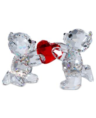 Swarovski Collectible Figurine, My Heart is Yours Kris Bear