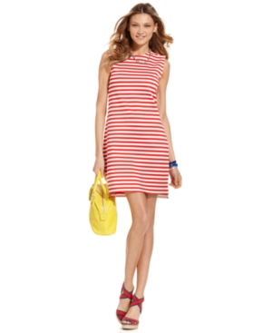 Tommy Hilfiger Dress, Sleeveless Striped