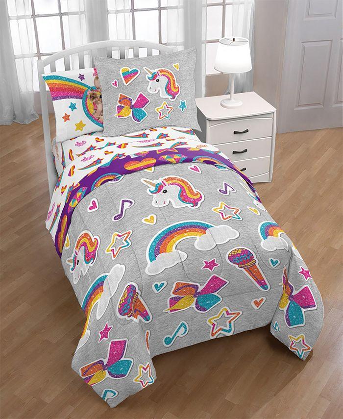 Jojo Siwa Rainbow Sparkle 8 Pc, Jojo Siwa Bedding Set Full