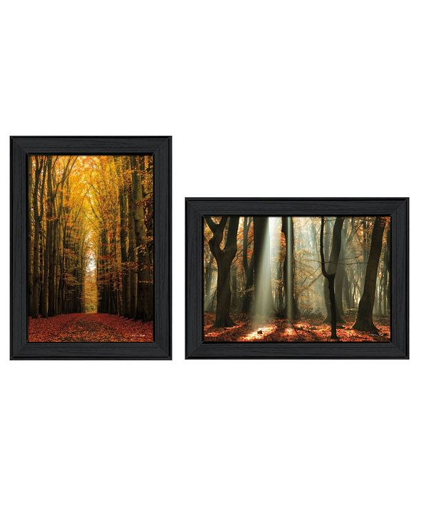 """Trendy Decor 4U Trendy Decor 4U Highway to Heaven Collection By Martin Podt, Printed Wall Art, Ready to hang, Black Frame, 36"""" x 21"""""""