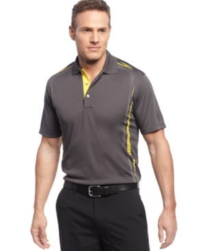 Champions Tour Golf Shirt Skeletol Pigment Print Polo Shirt