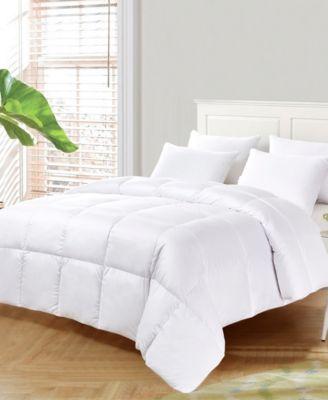 Ultra-Soft Nano-Touch All Season White Down Fiber Comforter, King