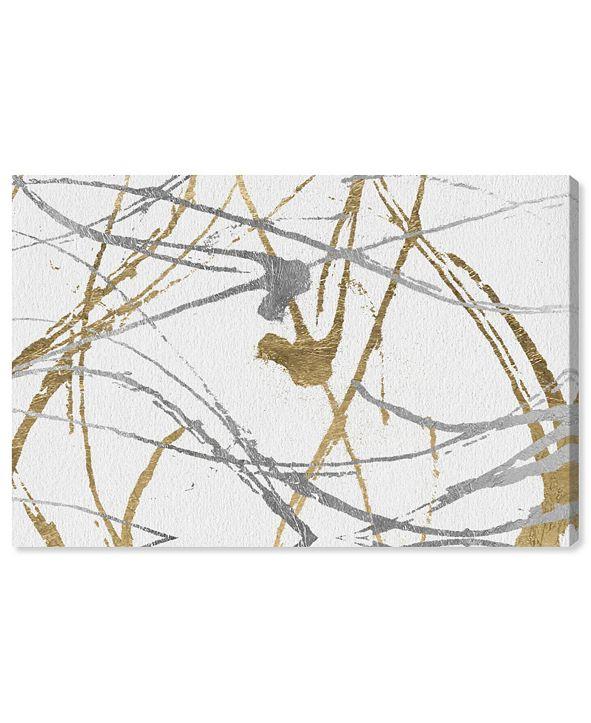 """Oliver Gal Precious Metals Canvas Art, 45"""" x 30"""""""