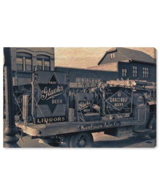 Beer Truck Canvas Art, 36