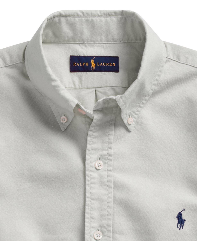 Polo Ralph Lauren Men's Classic Fit Garment-Dyed Oxford Shirt & Reviews - Casual Button-Down Shirts - Men - Macy's