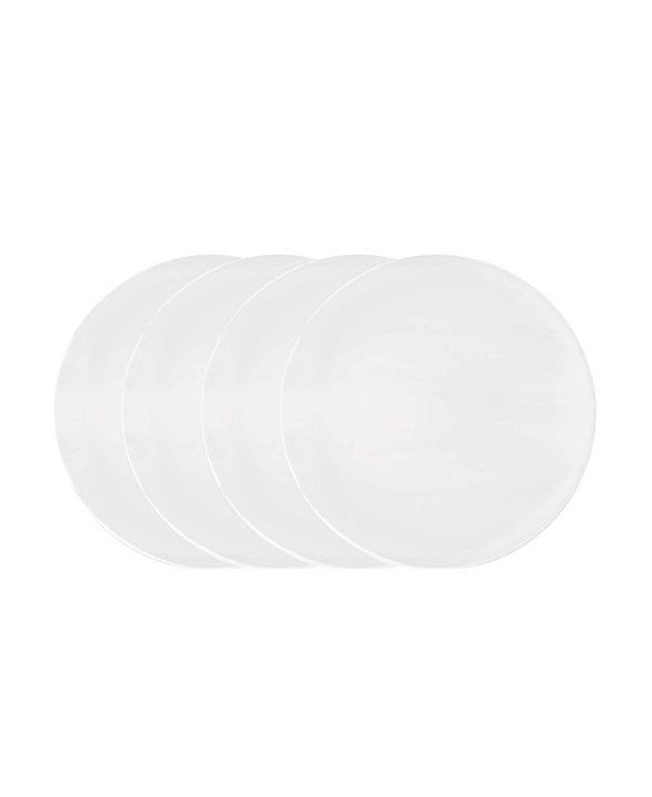 Vera Wang Wedgwood Perfect White Set/4 Dinner Plate