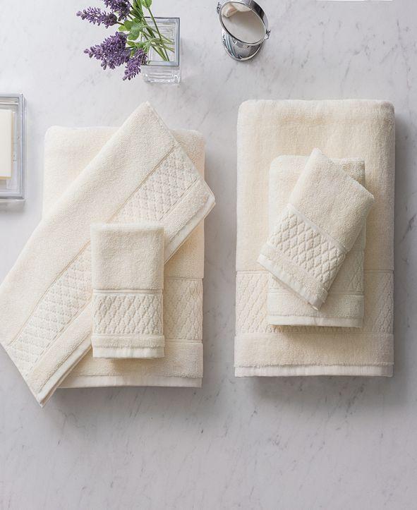 Welhome Luxury Organic Hudson 6-Pc. Cotton Towel Set