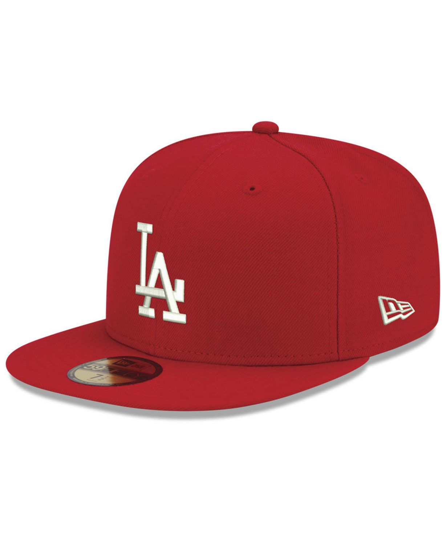 New Era Los Angeles Dodgers Re-Dub 59FIFTY-FITTED Cap & Reviews - Sports Fan Shop By Lids - Men - Macy's