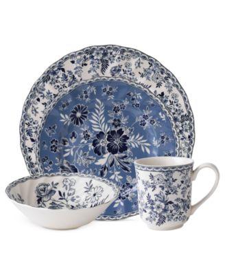 Dinnerware, Devon's Cottage 4-Piece Place Setting
