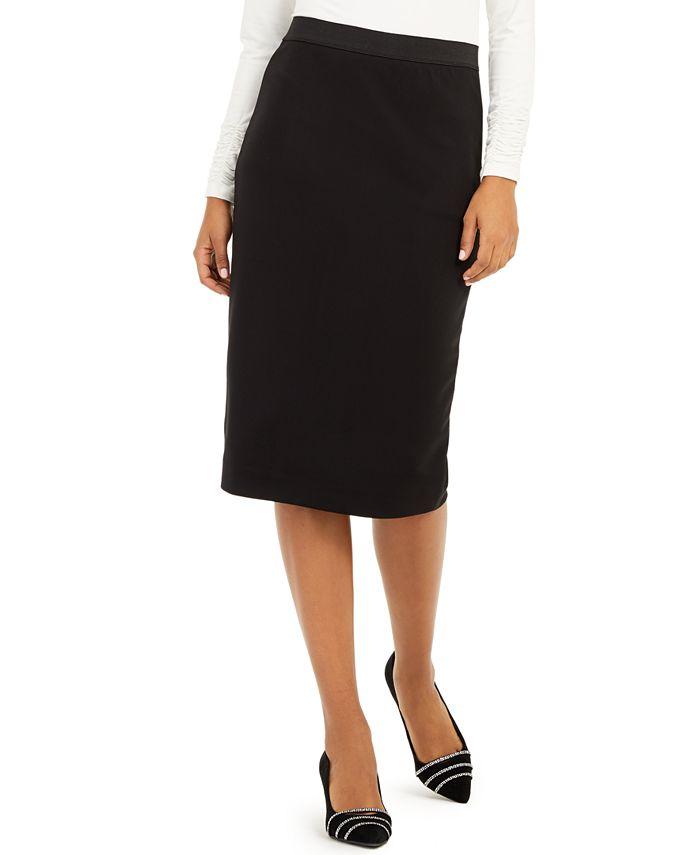 Alfani - Below-Knee Pencil Skirt