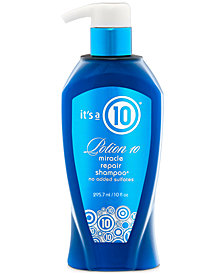 It's a 10 Potion 10 Miracle Repair Shampoo, 10-oz., from PUREBEAUTY Salon & Spa