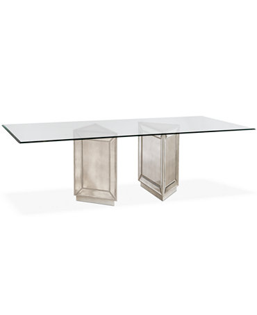 Sophia dining table 76 furniture macy 39 s for Macys dining table