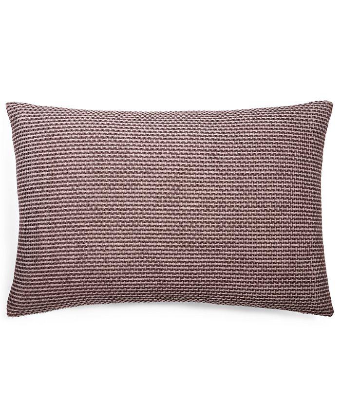 """Calvin Klein - Woven Diamond 14"""" X 20"""" Decorative Pillow"""
