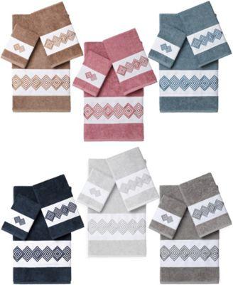 Noah 3-Pc. Embellished Towel Set
