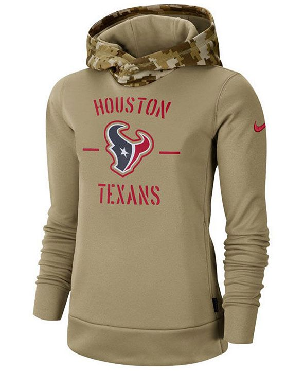Nike Women's Houston Texans Salute To Service Therma Hoodie