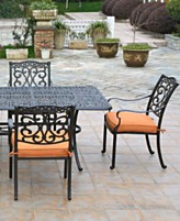 Soriano Outdoor Patio Furniture Dining Sets Pieces
