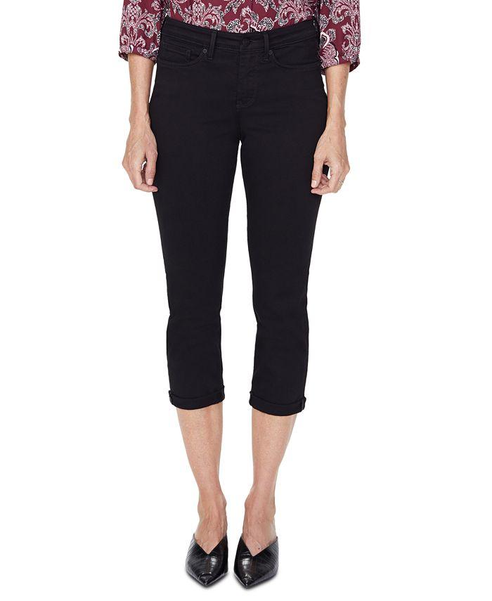 NYDJ - Roll-Hem Chloe Cropped Skinny Jeans