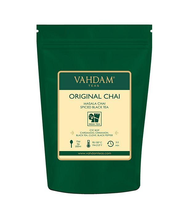 Vahdam Teas India's Original Masala Chai Tea, 100% Natural Spices 100 Servings