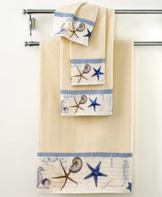 "Avanti Bath Towel, Antigua 11"" x 18"" Fingertip Towel"