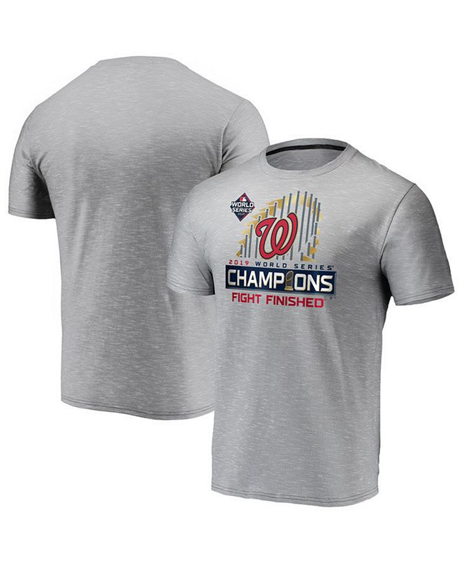 Outerstuff Big Boys Washington Nationals World Series Champ Locker Room T-Shirt