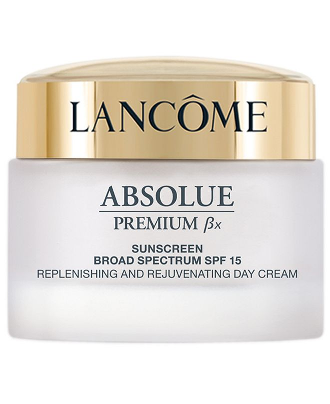 Lancome Absolue Premium Bx SPF 15 Moisturizer Cream and Sunscreen Lotion, 1.7 oz.