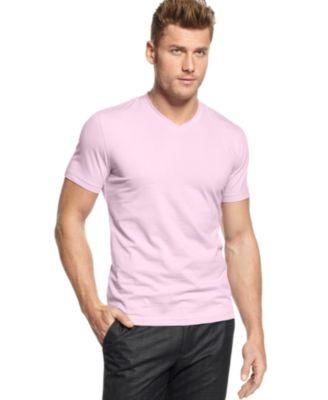 Pink Mens T Shirt