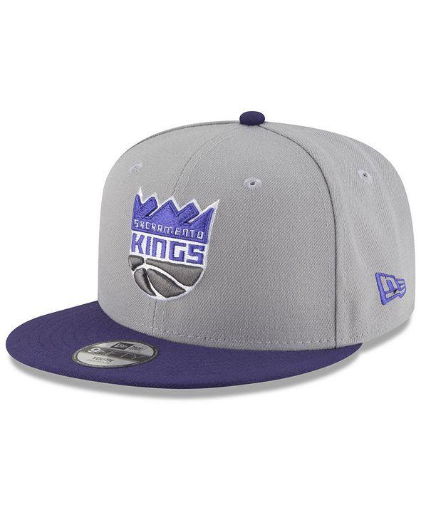 New Era Boys' Sacramento Kings Basic 9FIFTY Snapback Cap