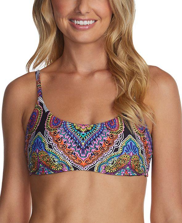 Raisins Juniors'  Baja Surf Printed Selah Bikini Top