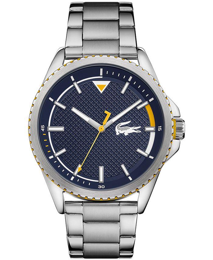 Lacoste - Men's Cap Marino Stainless Steel Bracelet Watch 46.1mm