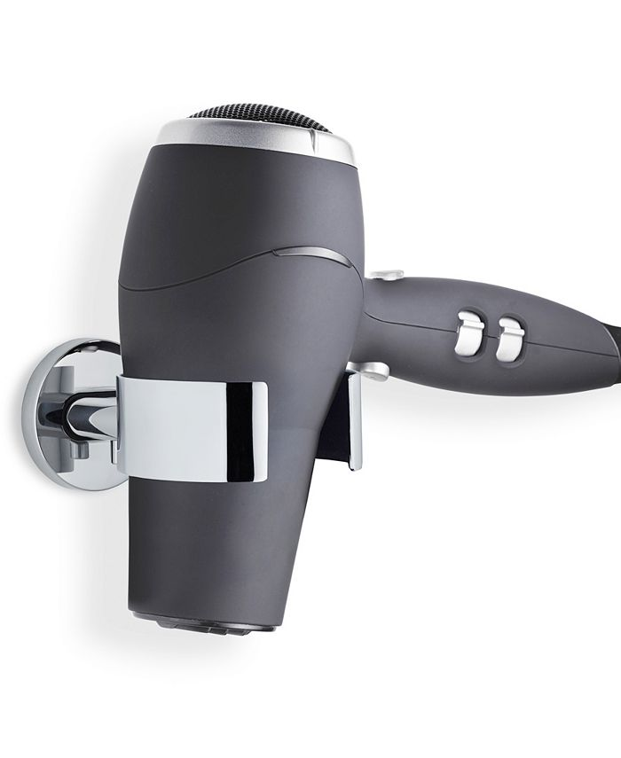 blomus - Wall Mounted Hair Dryer Holder - Polished - Areo