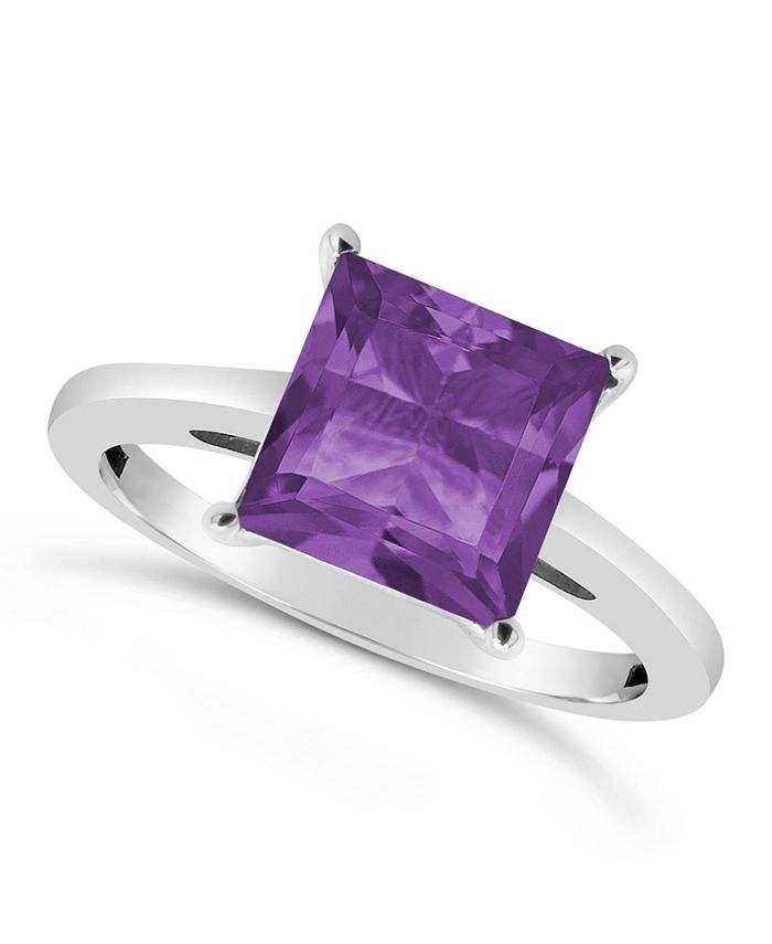 Macy's - Amethyst (2-3/8 ct. t.w.) Ring in Sterling Silver