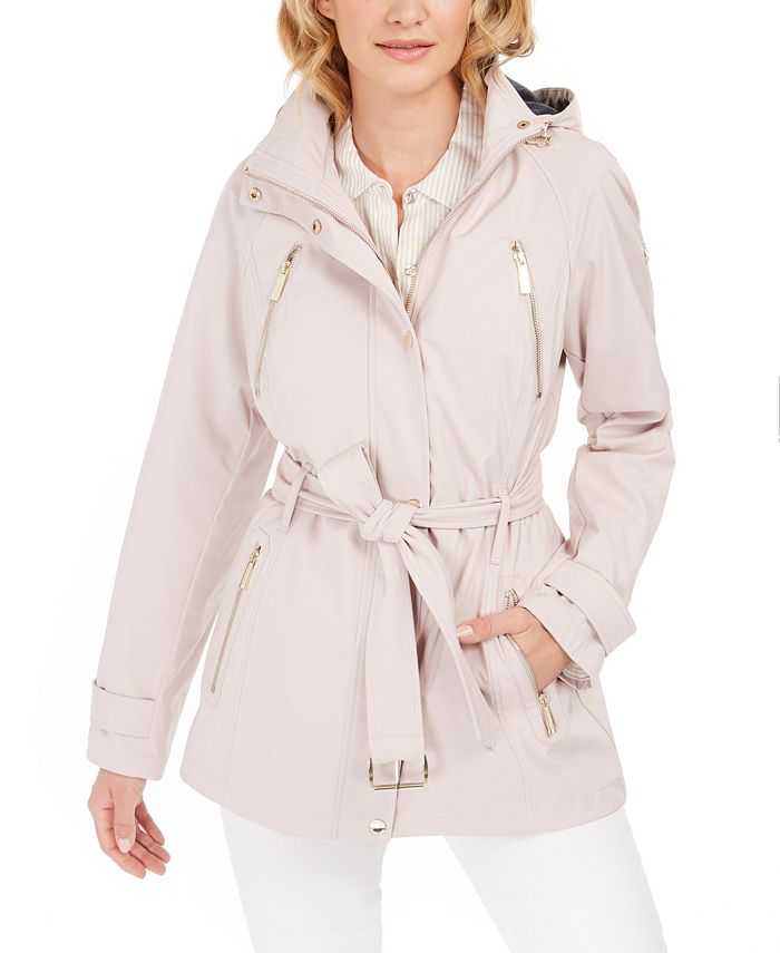 Michael Kors - Hooded Raincoat