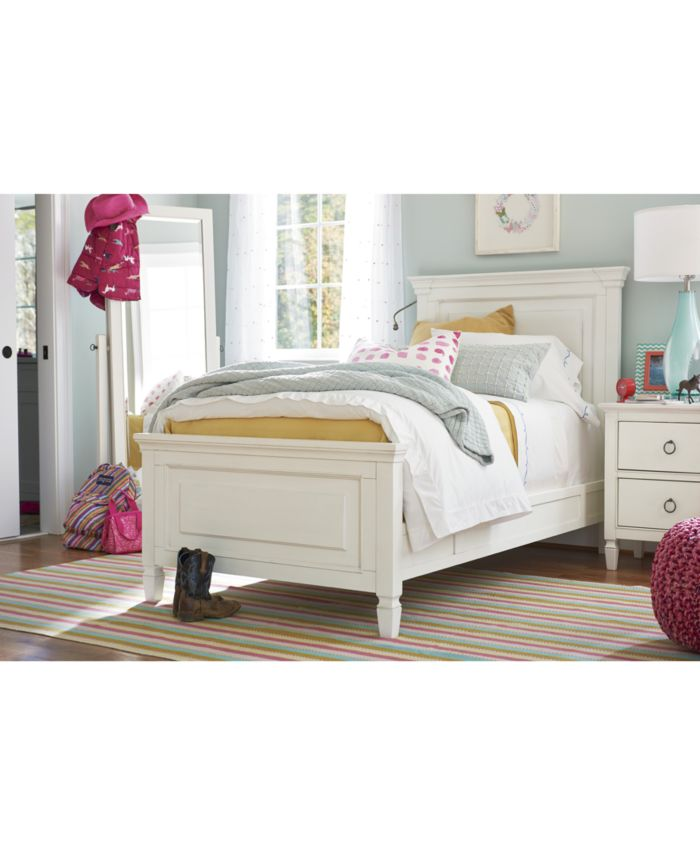 Furniture Summer Hill Twin Bed  & Reviews - Furniture - Macy's
