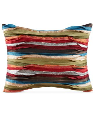 "Tracy Porter Bedding, Pleated 12"" x 16"" Decorative Pillow"