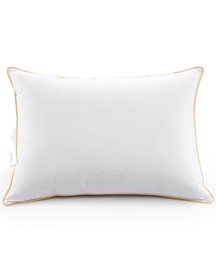 """Cheer Collection - 2-Pack of Lightweight Hollow Fiber Pillows, 20"""" x 36"""""""