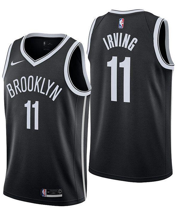 Nike Men's Kyrie Irving Brooklyn Nets Icon Swingman Jersey