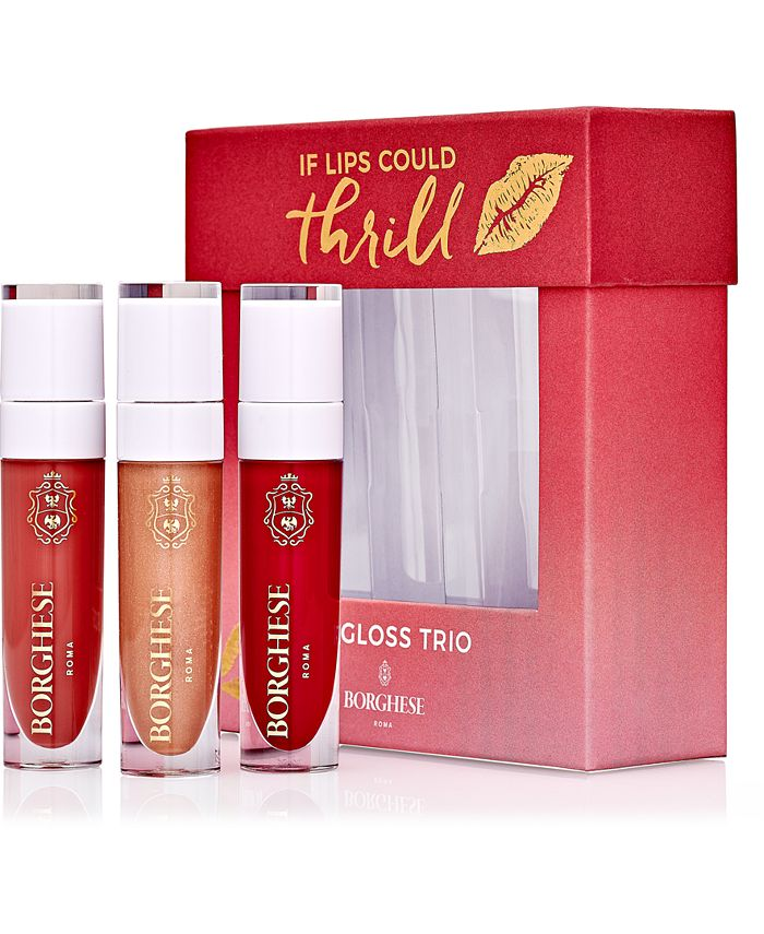 Borghese - 3-Pc. If Lips Could Thrill Lip Gloss Gift Set
