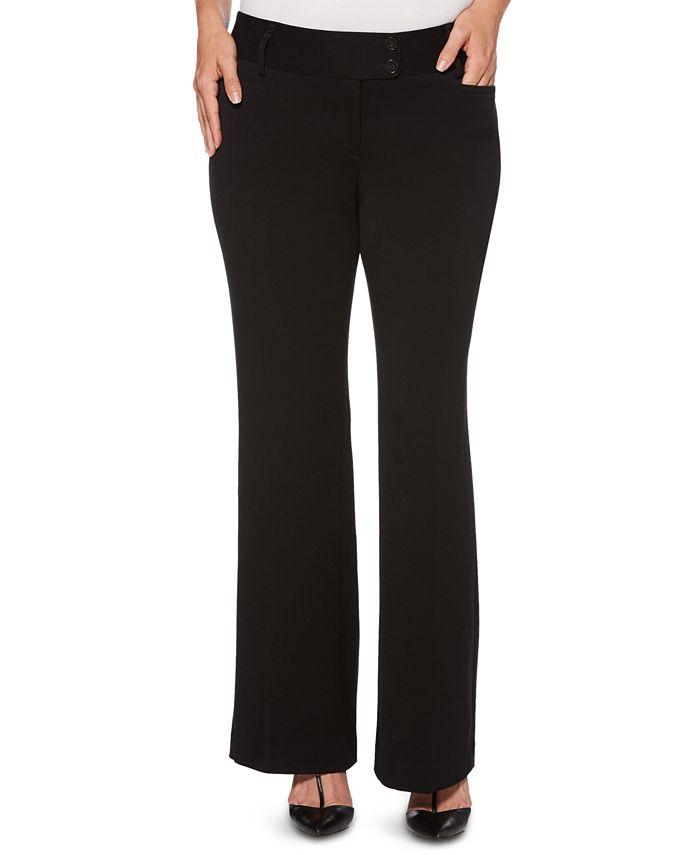 Rafaella - Curvy Boot-Cut Trousers