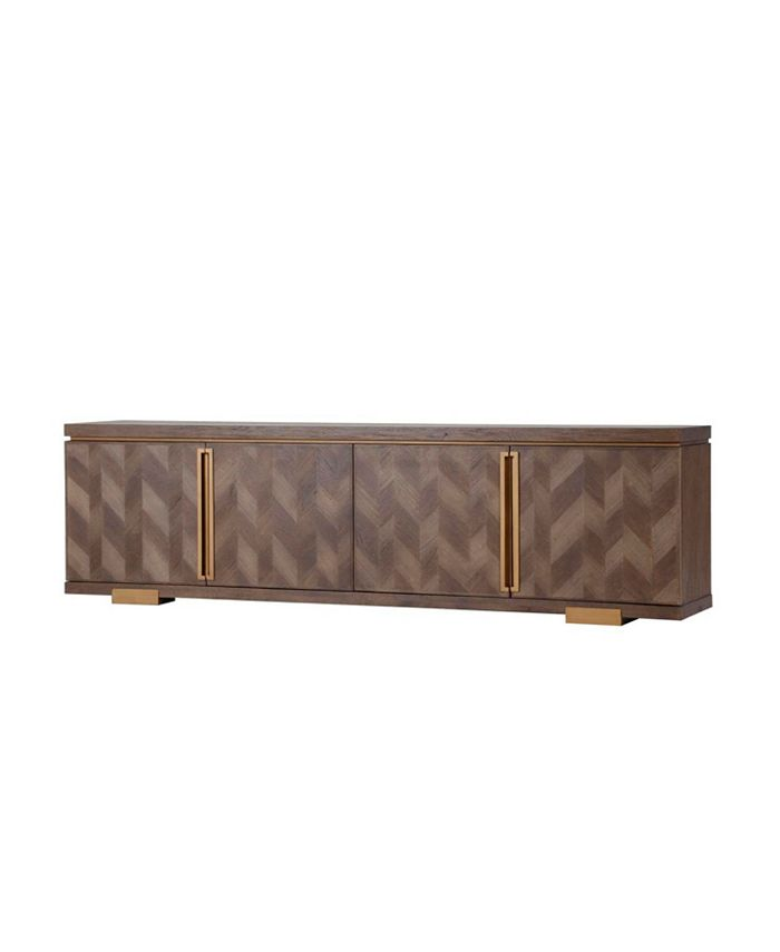 Furniture - Chevron Sideboard, Created for Macy's