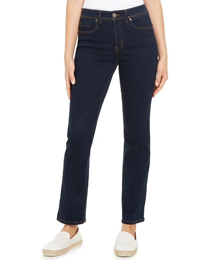 Style & Co - Tummy-Control Straight-Leg Jeans