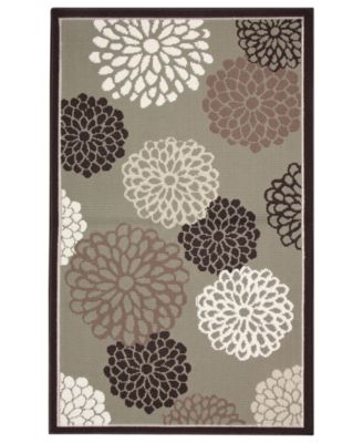 "Bacova Rugs, Blossom 28"" x 47"" Accent Rug"