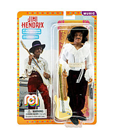 """Mego Action Figure 8"""" Jimi Hendrix, Miami Pop Limited Edition Collector's Item"""