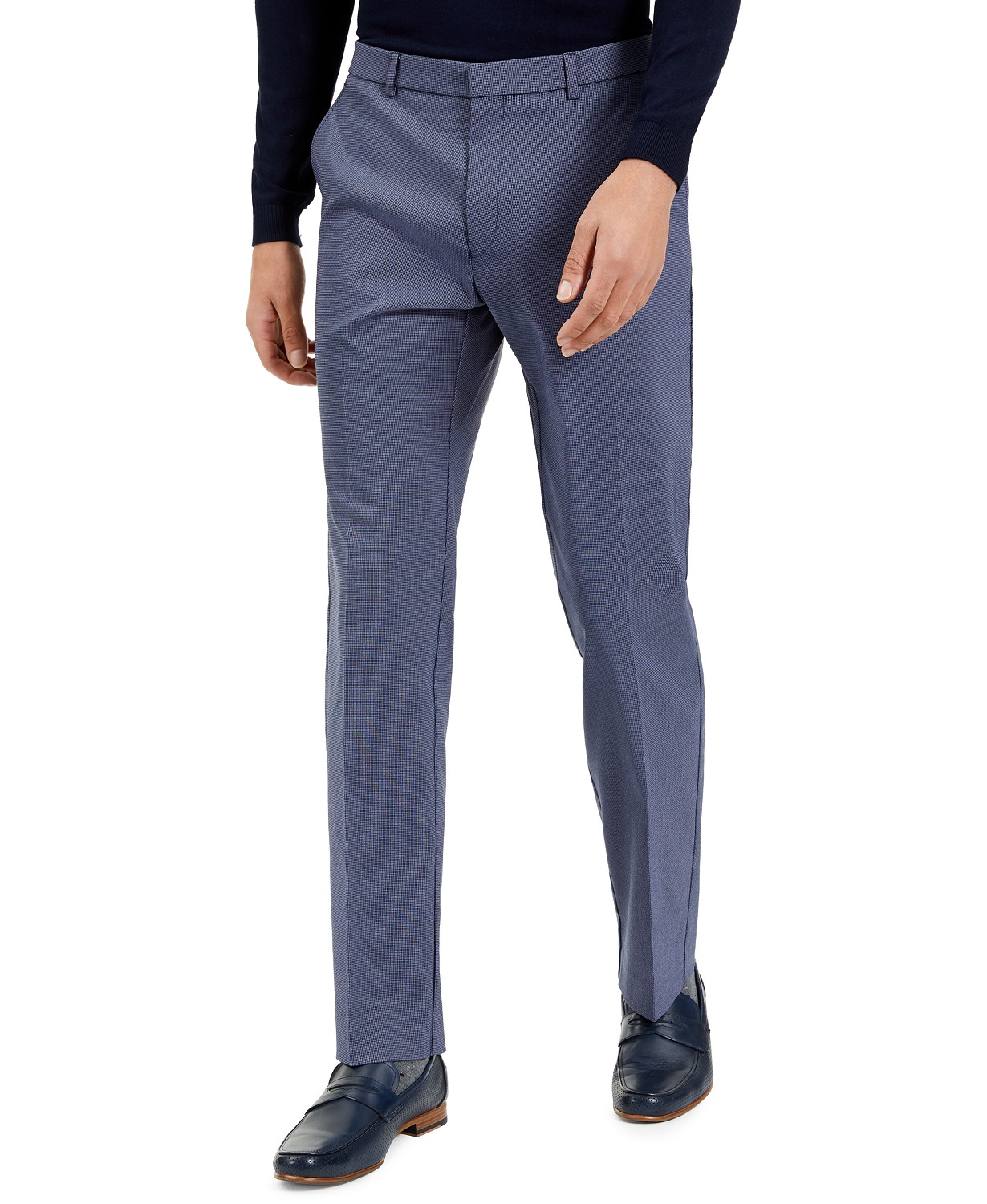 Tommy Hilfiger Men's Modern-Fit Stretch Patterned Performance Pants