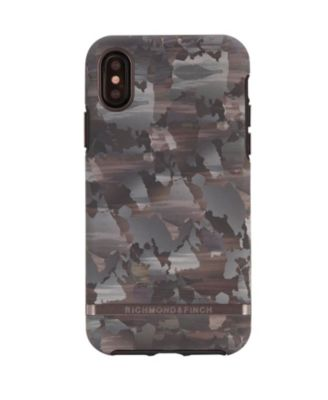 Camouflage Case for iPhone X and Xs