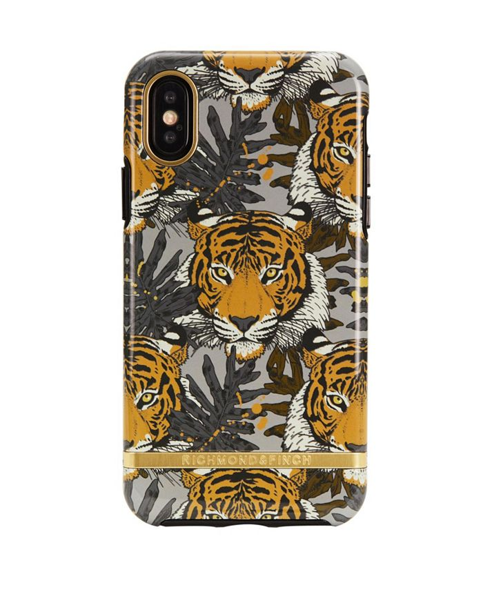 Richmond&Finch - Tropical Tiger Case for iPhone X and Xs