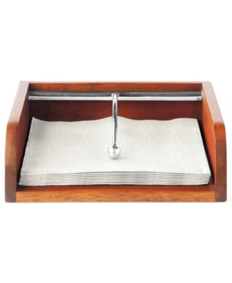 The Cellar Acacia Wood Napkin Holder