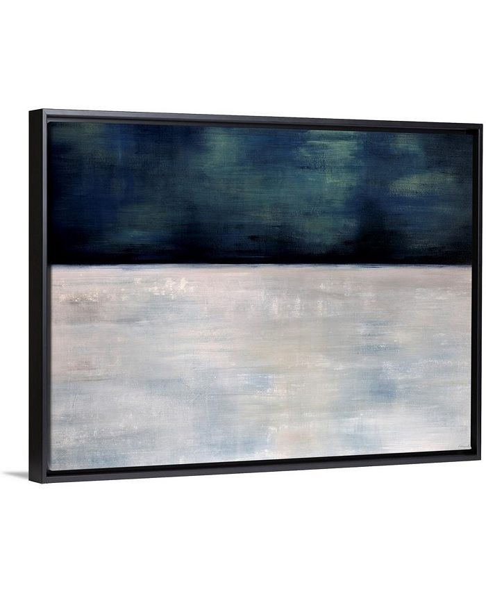 """GreatBigCanvas - 40 in. x 30 in. """"Arctic Night"""" by  Sydney Edmunds Canvas Wall Art"""